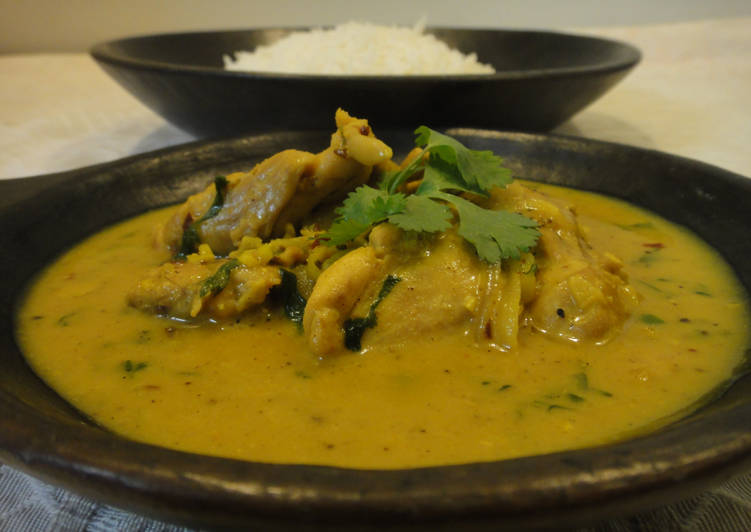 The Best Soft and Chewy Dinner Ideas Special Chicken in coconut gravy