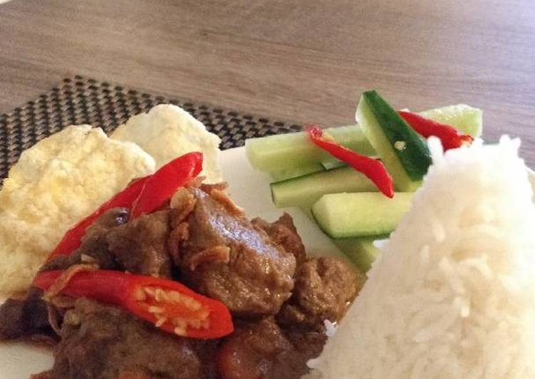 Easiest Way to Cook Yummy Rendang