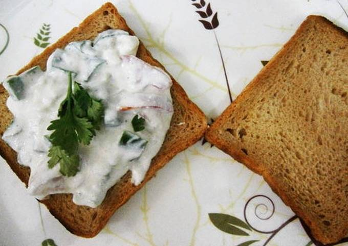 How to Prepare Appetizing Curd bread Tawa fry
