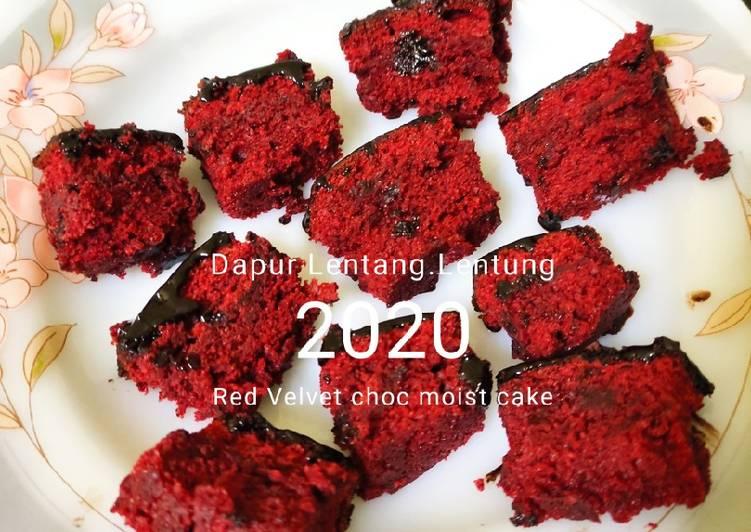 Red Velvet choc moist cake