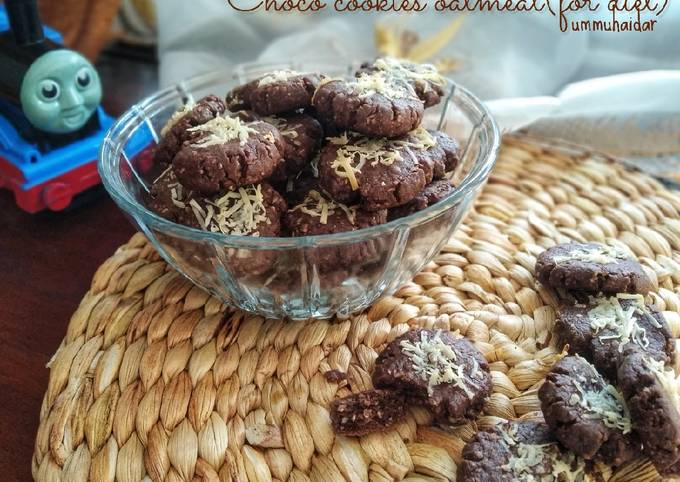 Choco cookies oatmeal (for diet)