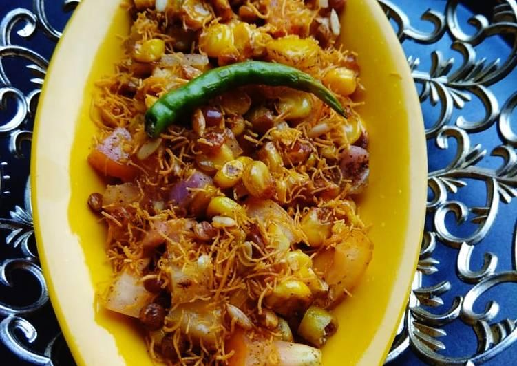 Stir fry Corn Chat