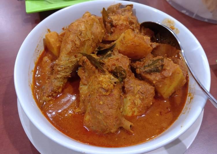 Kari Ayam Malaysia - cookandrecipe.com