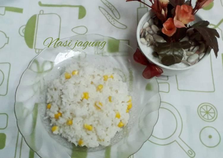 Cara Gampang Membuat Nasi jagung yang Bisa Manjain Lidah