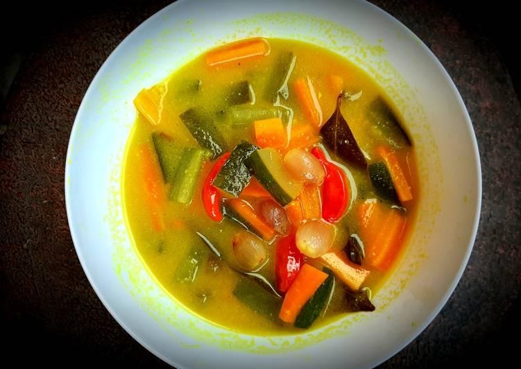 Acar Kuning Pelengkap Nasi Kuning - cookandrecipe.com