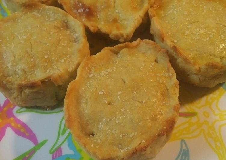 Easiest Way to Make Appetizing Beef Hand Pies
