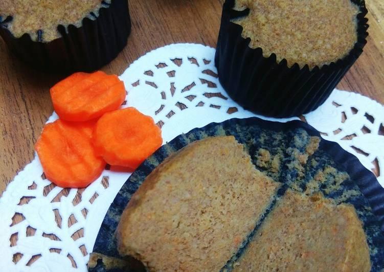 Resep Cupcake Oat Pisang Wortel Favorit