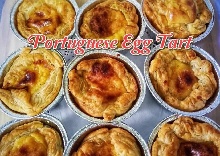 Portuguese Egg Tart (Air Fryer)