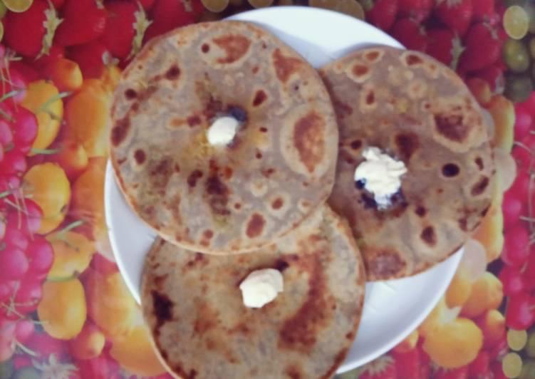 Recipe of Super Quick Homemade Cauliflower Paratha