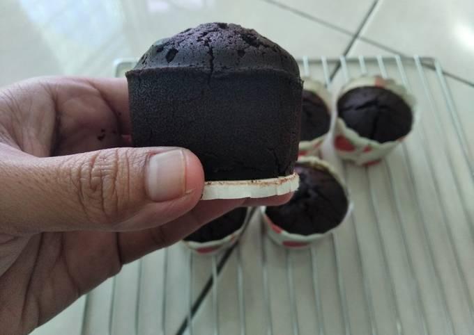 Choc moist cupcake (gluten free, egg free, diary free)