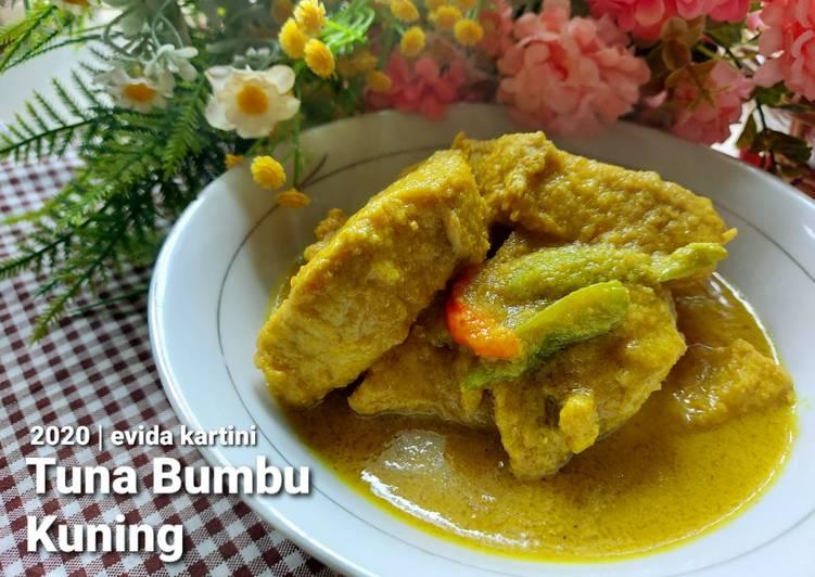 Tuna Bumbu Kuning