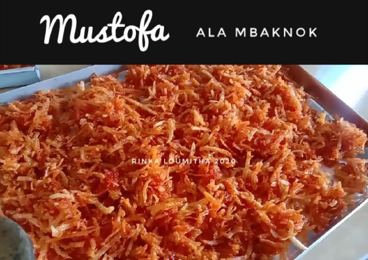 Resep Mustofa ala mbaknok enak terbaru