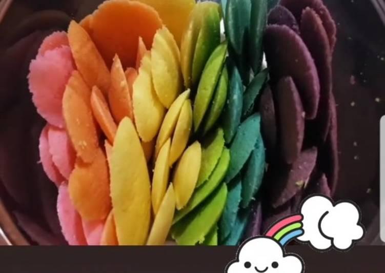 Lidah kucing (Rainbow)