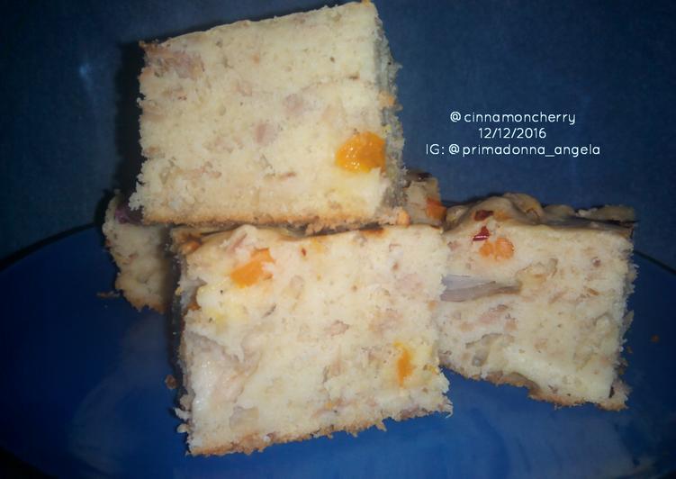 Tuna Cake Salé (Savory Cake)