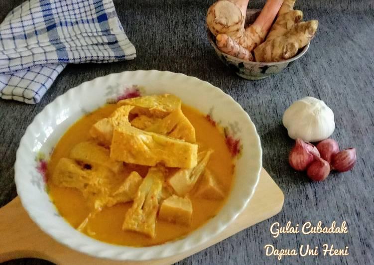 Gulai cubadak(nangka) & tips