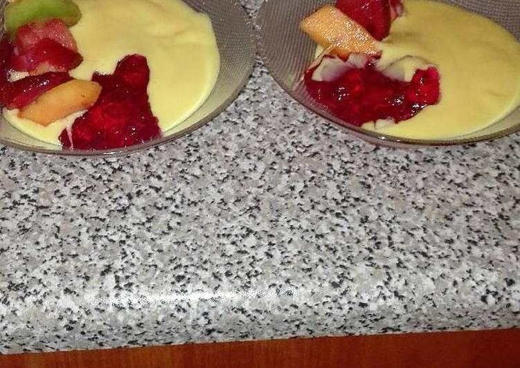 My simple Sunday dessert