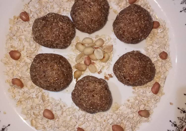 Recipe of Super Quick Homemade Oats laddu