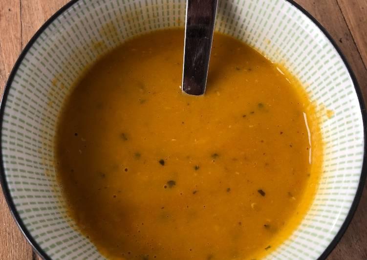 Soupe indienne de dhal