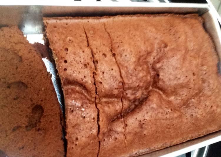 Bolu Kukus Coklat Chia Gluten free
