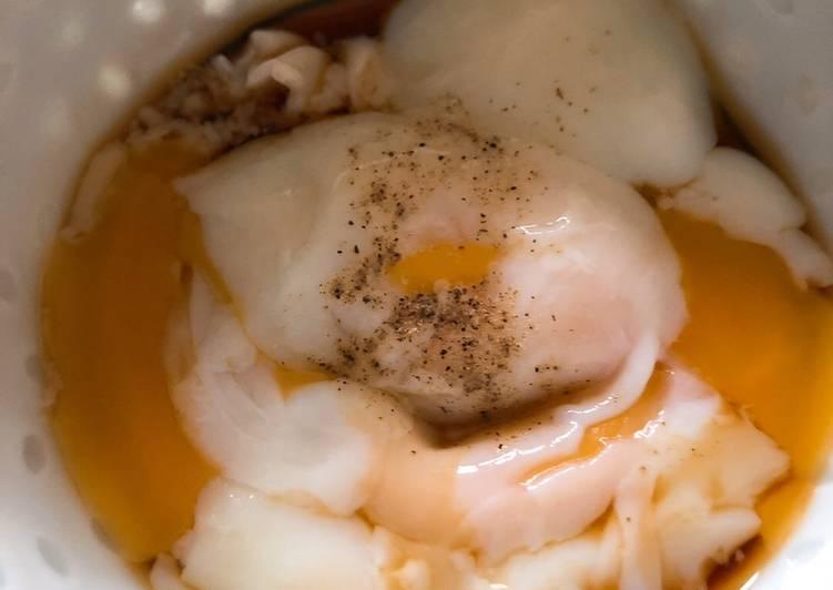 Malaysian Half Boiled egg