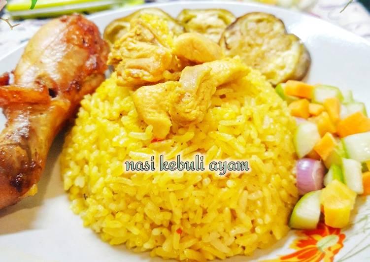 Cara Membuat Nasi Kebuli Ayam irit untuk jualan