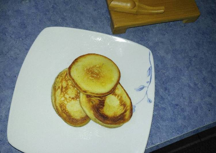 Mini Banana-Orange Pancakes
