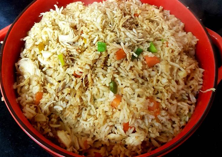 My Chilli Chicken Fried Rice. 😘