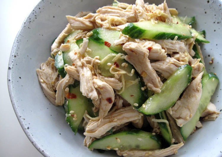 Chicken Cucumber Salad