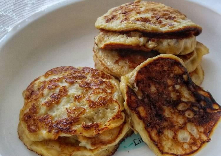 2 Ingredients Banana Pancake