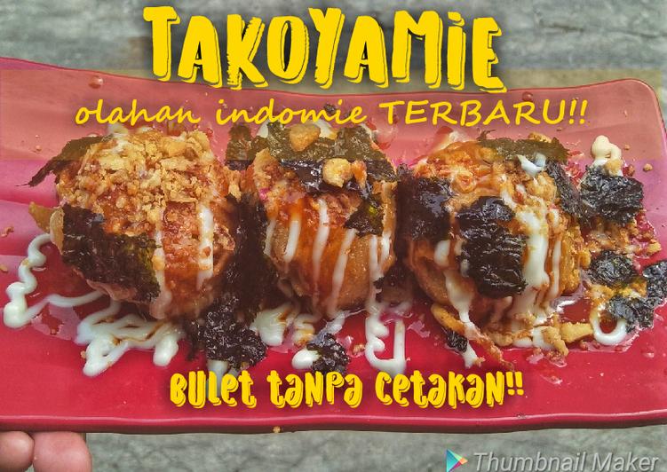 Resep Takoyaki Indomie Tanpa Cetakan Oleh Pat Family Cookpad