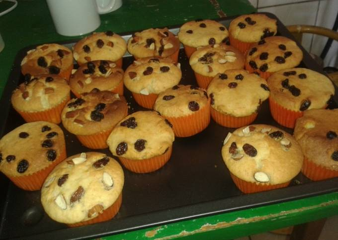 Easiest Way to Cook Tasty Nutty muffins#recipe marathon