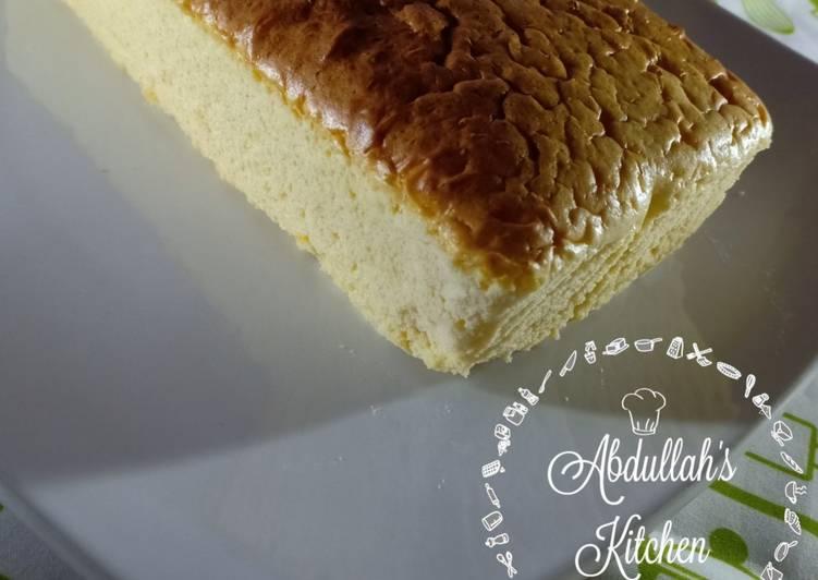 Japanese Cheesecake (no cream cheese)