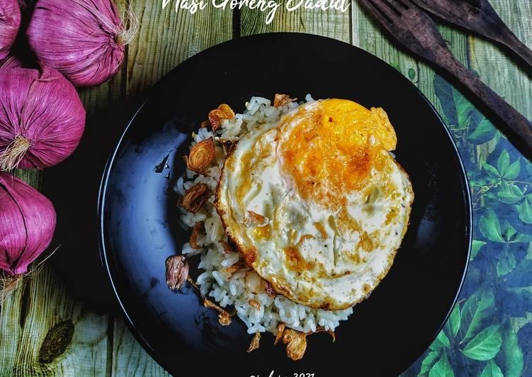 Nasi Goreng Jadul (nasi goreng bawang merah)