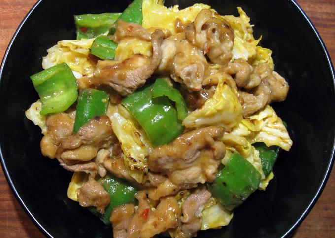 Stir-fried Pork & Cabbage