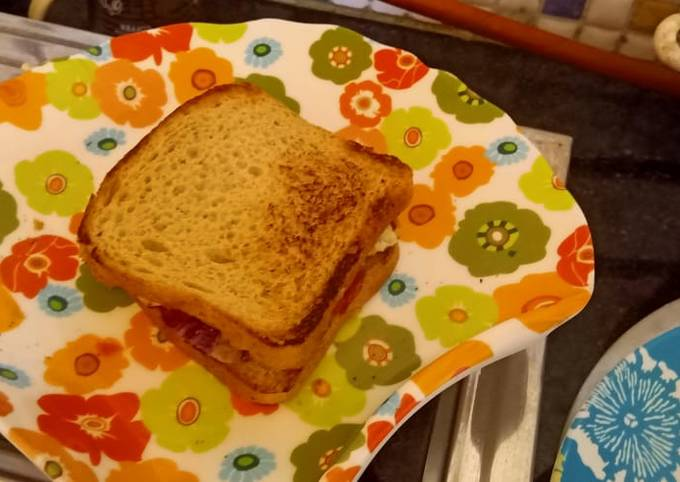 Recipe of Perfect Bread sandwich