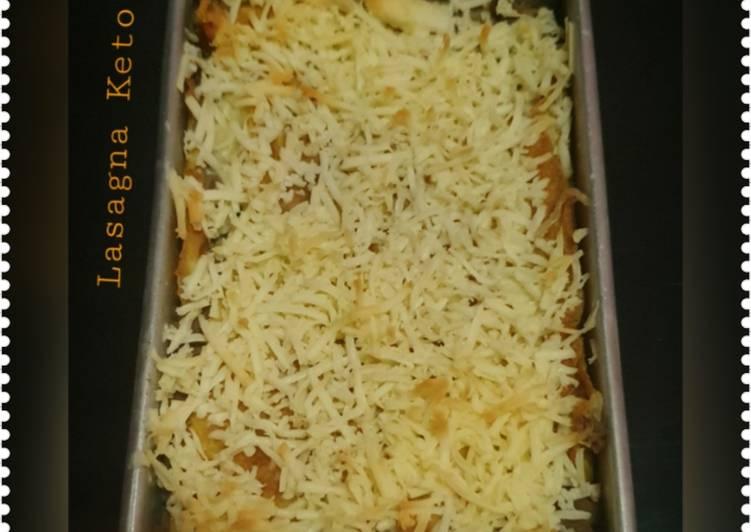 Cara membuat ~ Lasagna Keto ~