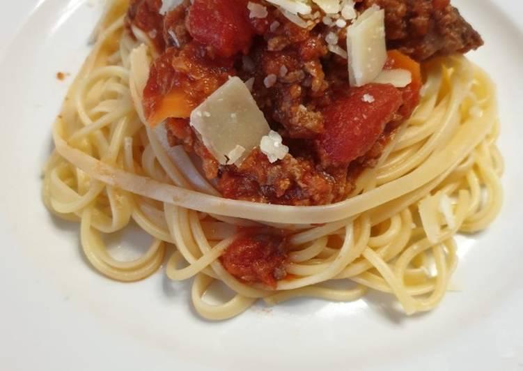 Comment Servir Spaghetti à la bolognaise