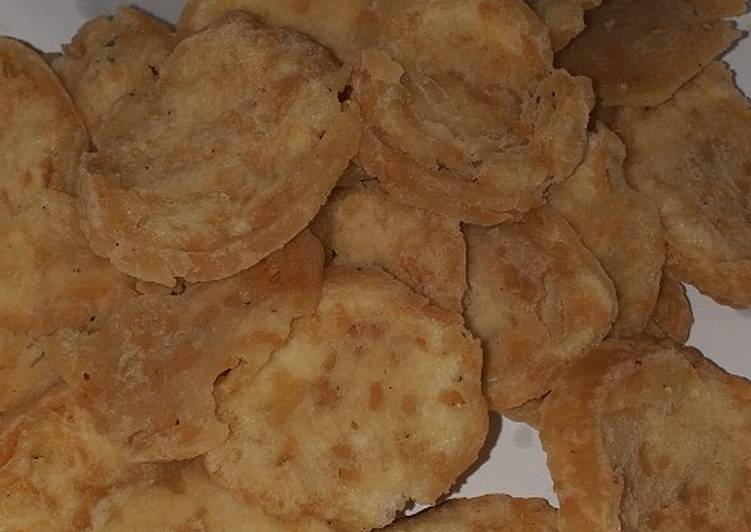 Resep Basreng Bakso Goreng Kriuk Renyah Kripik Bakso Oleh Ndhis2208 Cookpad
