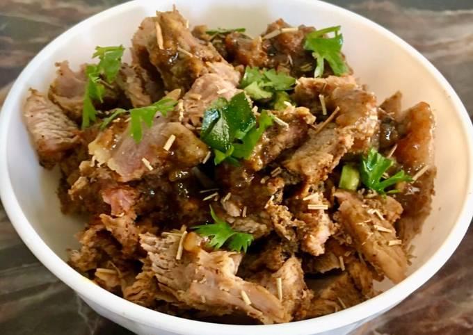 Oven roast beef