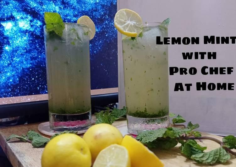 Recipe of Homemade Lemon mint drink