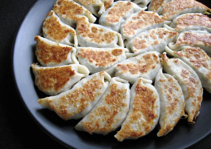 Vegan Abura-age (Fried Thin Tofu) Gyoza