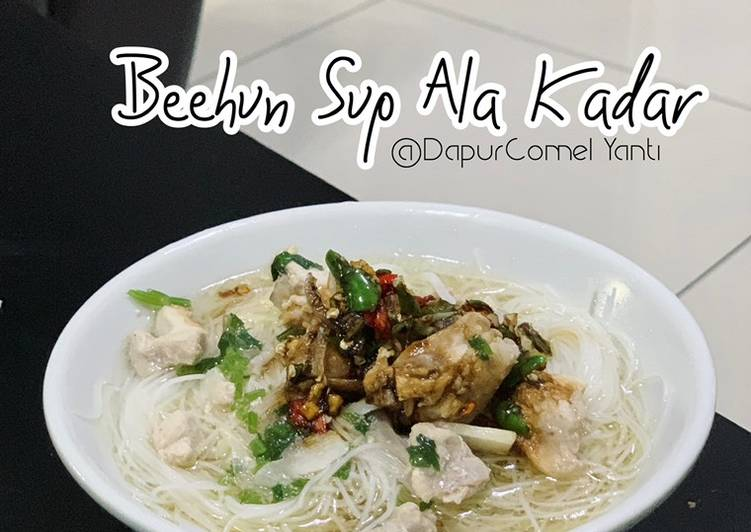 Beehun Sup Ala Kadar - velavinkabakery.com