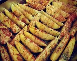Patatas gajo al horno