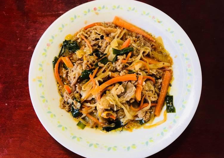 5 Best Practices Bulgogi -Korean style beef and vegetables-