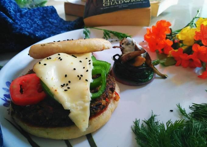 Kulcha Tikki Burger