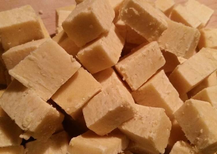 Lemon Cake Fudge