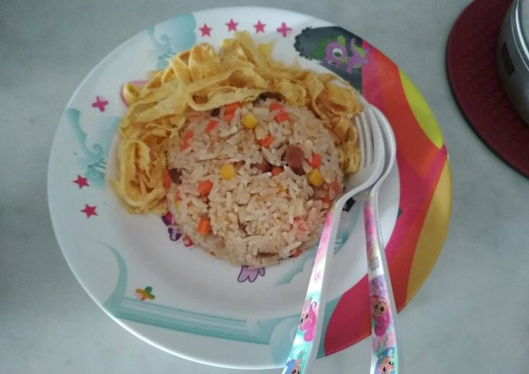 Resep Nasi goreng anak-anak Paling Top