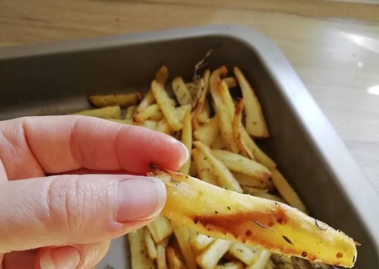 Frites de panais au thym frais BIO