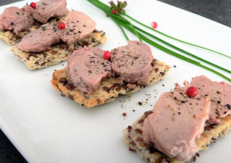 Les Meilleures Recettes de Crackers aux graines mélangées,foie de morue