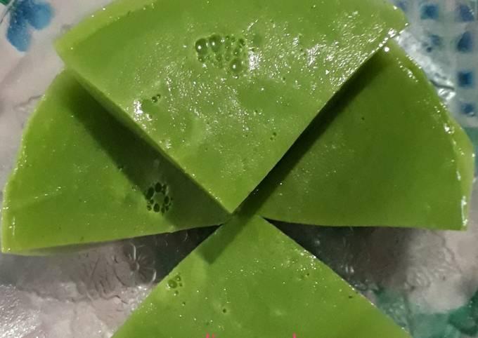 Puding Pandan Melon